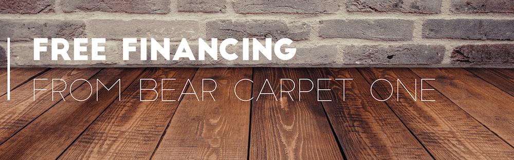 Free Flooring Finacing From Bear Carpet One